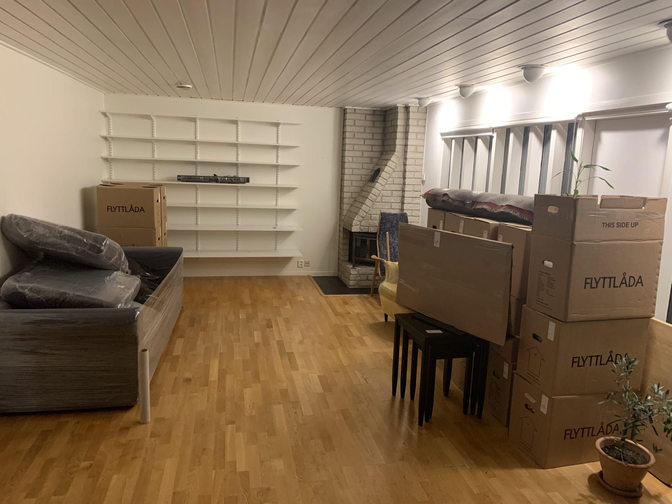 flytta möbler stockholm